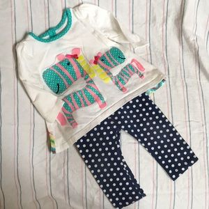 Nursery Rhyme Play 2 Pc Outfit